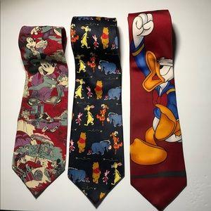 Disney Neck Ties
